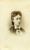 France Lille Louise Bourdon Femme Mode Ancienne Photo CDV Carette 1870' - Photographs