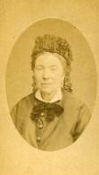 France Lille Portrait De Femme Mode Ancienne Photo CDV Bury 1870' - Photographs