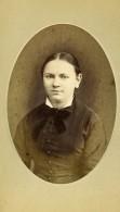 France Lille Marie Dupont Femme Mode Ancienne Photo CDV Dupreel 1870's - Photographs