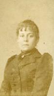 France Lille Femme Mode Ancienne Photo CDV Paul Van Laethem 1890' - Photographs