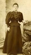 France Lille Femme Mode Ancienne Photo CDV Desbottes 1890' - Photographs
