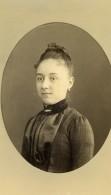 France Rouen Femme Mode Ancienne Photo CDV Witz 1880's - Photographs