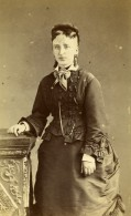 France Rouen Femme Mode Second Empire Ancienne Photo CDV Witz 1870's - Old (before 1900)