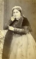 France Beauvais Femme Mode Second Empire Ancienne Photo CDV Herbert 1860' - Photographs