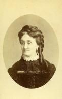 France Macon Portrait De Femme Mode Ancienne Photo CDV Sereni 1870's - Photographs
