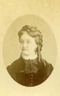 France Macon Portrait De Femme Mode Ancienne Photo CDV Sereni 1870's - Old (before 1900)