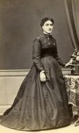 France Toulouse Femme Mode Second Empire Ancienne Photo CDV Marrast 1860' - Photographs