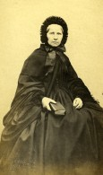 France Femme Mode Second Empire Ancienne Photo CDV 1860' - Old (before 1900)