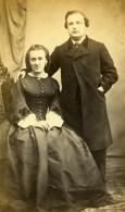 France Mari Et Femme Couple Mode Second Empire Ancienne Photo CDV 1860' - Photographs