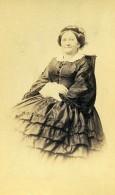 France Portrait De Femme Mode Second Empire Ancienne Photo CDV 1870' - Photographs