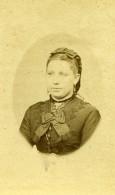 France Portrait De Femme Mode Ancienne Photo CDV 1870' - Photographs