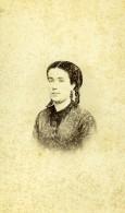France Portrait De Femme Mode Ancienne Photo CDV 1870' - Old (before 1900)