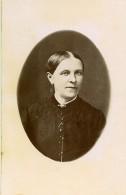 France Portrait De Femme Mode Ancienne Photo CDV 1890's - Photographs