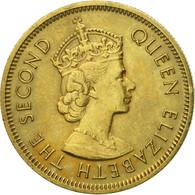 Monnaie, Hong Kong, Elizabeth II, 10 Cents, 1974, TTB, Nickel-brass, KM:28.3 - Hong Kong