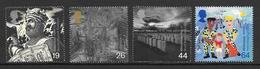 Great Britain - 1999 Millennium Series - The Soldiers Tale - 4v MNH - 1952-.... (Elizabeth II)