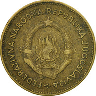 Monnaie, Yougoslavie, 50 Dinara, 1955, TB+, Aluminum-Bronze, KM:35 - Joegoslavië