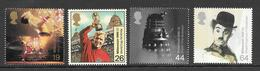 Great Britain - 1999 Millennium Series - The Entertainer's Tale - 4v MNH - 1952-.... (Elizabeth II)