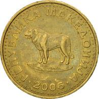 Monnaie, Macédoine, Denar, 2006, TTB, Laiton, KM:2 - Macedonia