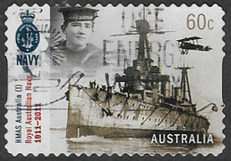 Australia 2011 Warships 60c Type 1 Self Adhesive Good/fine Used [38/31236/ND] - 2010-... Elizabeth II