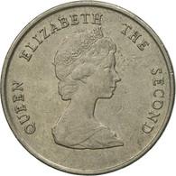 Monnaie, Etats Des Caraibes Orientales, Elizabeth II, 25 Cents, 1997, TTB - Caraïbes Orientales (Etats Des)
