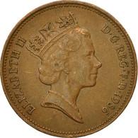 Monnaie, Grande-Bretagne, Elizabeth II, 2 Pence, 1986, TB+, Bronze, KM:936 - 1971-… : Monnaies Décimales