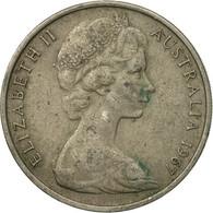 Monnaie, Australie, Elizabeth II, 20 Cents, 1967, TB, Copper-nickel, KM:66 - Monnaie Décimale (1966-...)