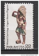 USA, MNG, Indiens D'amérique, Amérindien, Amerindian, Wood Carving, Sculpture Sur Bois - Indiens D'Amérique