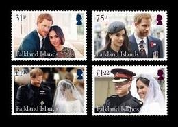 Falkland Islands 2018 Mih. 1369/72 Royal Wedding. Prince Harry And Meghan Markle MNH ** - Falklandeilanden