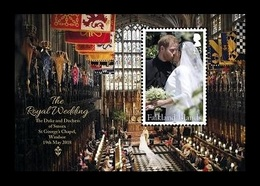 Falkland Islands 2018 Mih. 1373 (Bl.52) Royal Wedding. Prince Harry And Meghan Markle MNH ** - Falklandeilanden