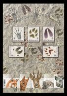 Belgium 2018 Mih. 4806/10 (Bl.222) Fauna. Traces Of Animals MNH ** - Unused Stamps