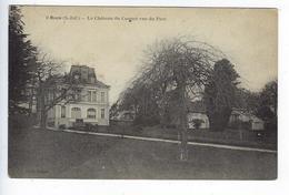 CPA Rouen Bonsecours Mesnil Esnard Boos Le Château Du Coquet Vue Du Parc - Bonsecours