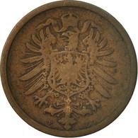Monnaie, GERMANY - EMPIRE, Wilhelm I, 2 Pfennig, 1874, Stuttgart, TB, Cuivre - [ 2] 1871-1918 : Imperio Alemán