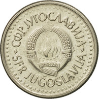 Monnaie, Yougoslavie, Dinar, 1991, TTB, Copper-Nickel-Zinc, KM:142 - Joegoslavië