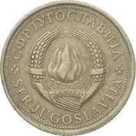 Monnaie, Yougoslavie, Dinar, 1977, TB+, Copper-Nickel-Zinc, KM:59 - Yugoslavia