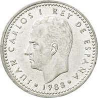 Monnaie, Espagne, Juan Carlos I, Peseta, 1988, TTB+, Aluminium, KM:821 - [ 5] 1949-… : Royaume