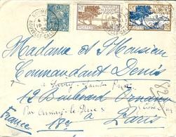 """1935- Env. De Nouméa Pour La France -au Dos, Faux Daguin """" Buvez Le /CAFE / De La Nouvelle / CALEDONIE """" - Briefe U. Dokumente"""