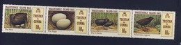 TRISTAN DA CUNHA 1981 Oiseaux  YVERT N°298/301 NEUF MNH** - Oiseaux