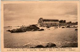 51dst 442 CPA - L'HOTEL DE LA MER A BRIGNOGAN PLAGES - Brignogan-Plage