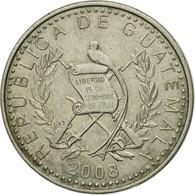 Monnaie, Guatemala, 10 Centavos, 2008, TB+, Copper-nickel, KM:277.6 - Guatemala
