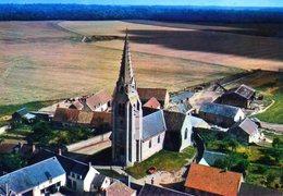 Marboué. Vue Aérienne. L'Eglise. - France