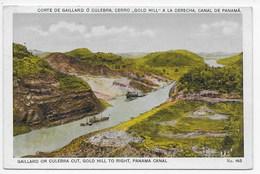 Gaillard Or Culebra Cut, Gold Hill To Right, Panama Canal - Panama