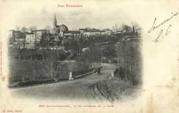 SOS (Lot Et Garonne) Vu De L'Avenue De La Gare Labouche RV - France