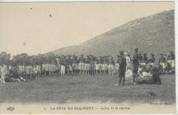 CPA Chasseur Alpins La Fete Du Regiment - France