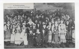 LOURDES EN 1910 - N° 21 - GRANDE APOTHEOSE AVEC ENFANTS - LES GRANDS PELERINAGES - CPA VOYAGEE - Lourdes