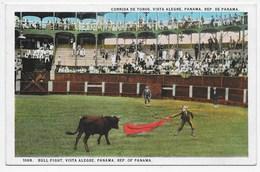 Bull Fight, Vista Alegre, Panama, Rep, Of Panama - Panama