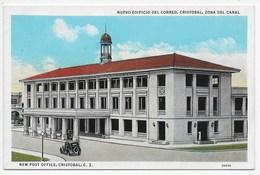 New Post Office, Cristobal, C.Z. - Panama