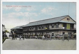 Railroad Station At Panama City. - Panama