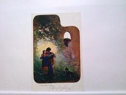 AK Künstlerkarte/Polen, 1914, Wydawnictwo Art. Pocztowek, Lwowski Salon, Farbpalette, Ungelaufen. - Ansichtskarten