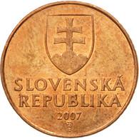 Monnaie, Slovaquie, 50 Halierov, 2007, TTB+, Copper Plated Steel, KM:35 - Slovaquie
