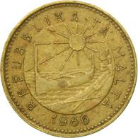 Monnaie, Malte, Cent, 1986, British Royal Mint, TB+, Nickel-brass, KM:78 - Malta